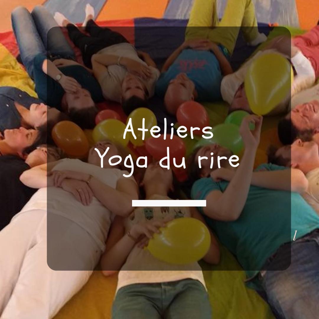 Ateliers yoga du rire